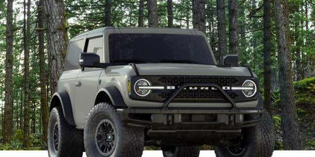 The Bronco's Sasquatch package includes 35-inch tires.