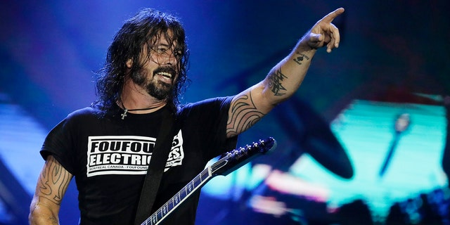 In this Sept. 29, 2019, file photo, Dave Grohl of the band Foo Fighters performs at the Rock in Rio music festival in Rio de Janeiro, Brazil.