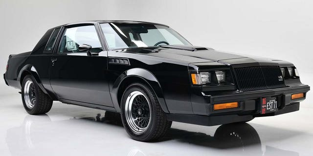 Buick only built 547 GNX coupes for 1987.