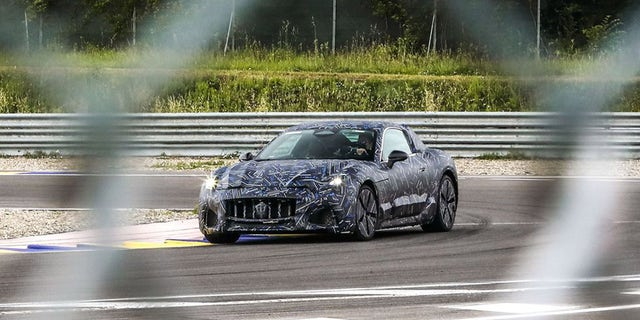 The 2023 Maserati Granturismo will be available with an all-electric powertrain.