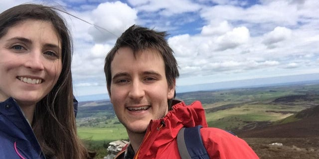 George Goddard planned to propose to his girlfriend, Isobel, after hiking to the summit of the Simonside Hills in Northumberland National Park.