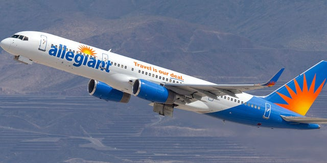 Passengers who were supposed to depart from the airport on Friday on an Allegiant flight were delayed due to a mechanical issue on the plane.