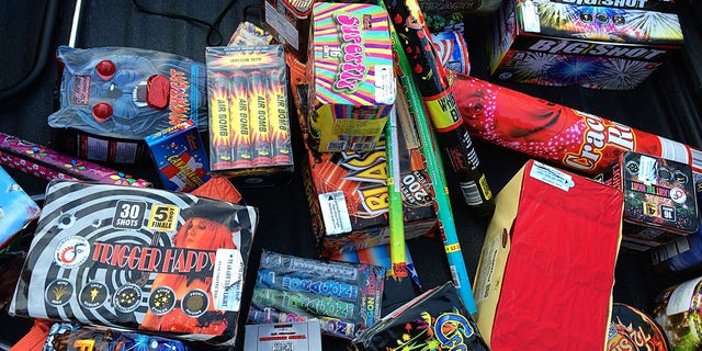 Families are loading up on fireworks ahead of Independence Day Sunday – and amid an ongoing shortage of the Fourth of July sparklers.