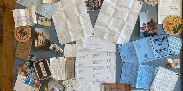 The owner of Holcombe Farmshop and Kitchen in Radstock, England, recently found a time capsule from 1973 on the wall of the pub.