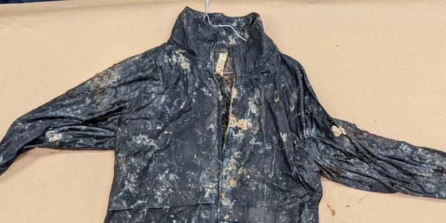 Jane Doe's jacket found at the scene by investigators. (FBI)