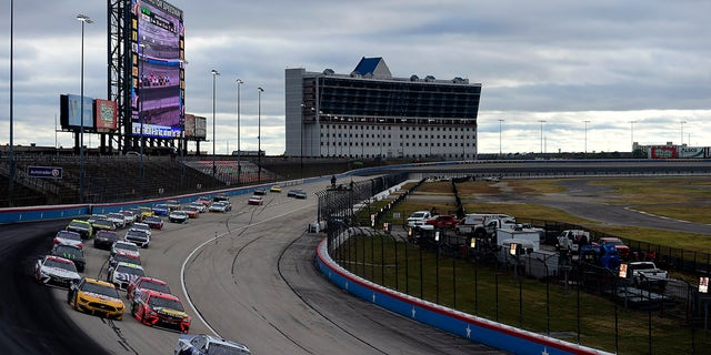 Kyle Busch won the NASCAR Cup Series Autotrader EchoPark Automotive 500 at Texas Motor Speedway last October.
