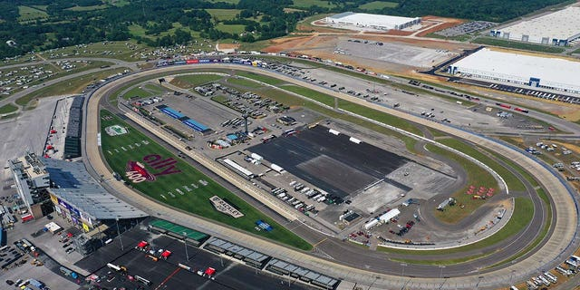The Nashville Superspeedway is located in Lebanon, TN.