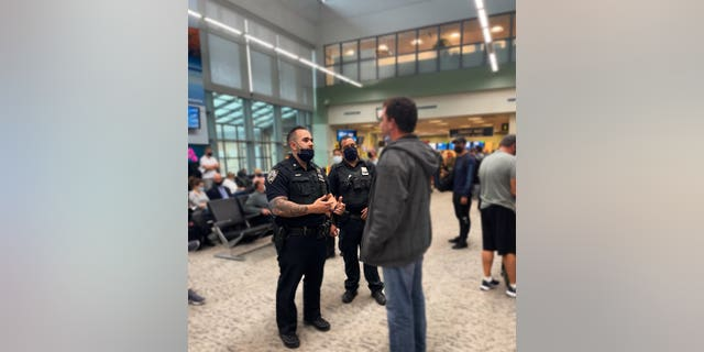 NYPD officers helped this autistic man from Florida who got lost in New York City make it back home to Florida safely.
