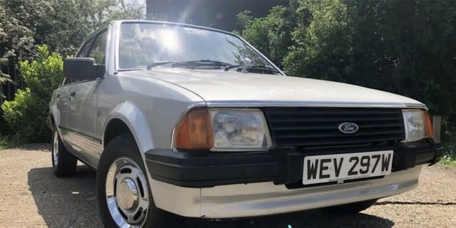 Princess Diana's 1981 Ford Escort hasn't been seen in public in over 20 years