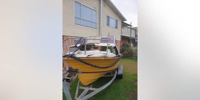 Nick's family boat