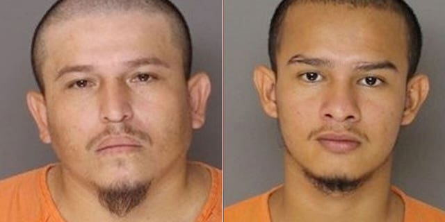 Hugo Chavez, 33, and Jonathan Hernandez, 21, were sentenced to life in prison without the possibility of parole in connection to the brutal 2019 murder of a man in Maryland. (Baltimore County Police)
