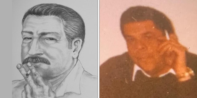 Left: This sketch, made available by the Bish family, shows the alleged abductor of Warren, Mass., lifeguard Molly Bish, was released during a news conference in Worcester, Mass., Monday March 19, 2001. Right: A photograph of her potential killer Frank Sumner released by the district attorney's office earlier this month. (AP Photo/Charles Krupa)/(Worcester County District Attorney's Office)