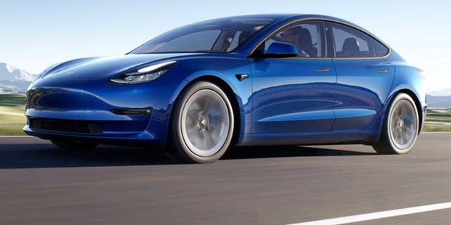Tesla Model 3 sedans sold in the U.S. are built in Fremont, Calif.