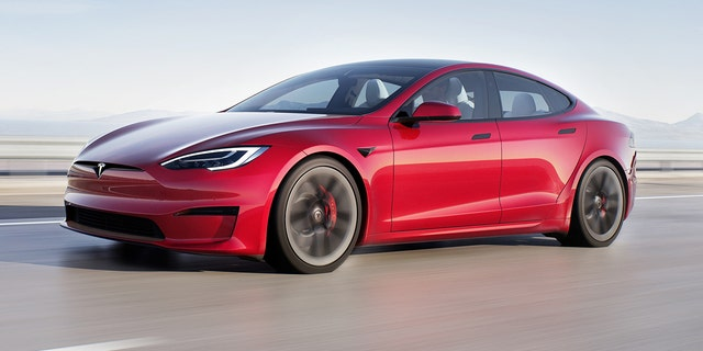 The Tesla Model S Plaid is the automaker's new top model.