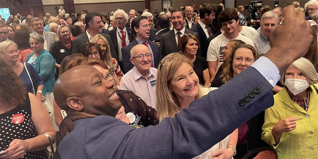 Sen. Tim Scott of South Carolina, the only Black Republican in the Senate and a rising star in the GOP, on June 28, 2021 launched his 2022 re-election campaign.