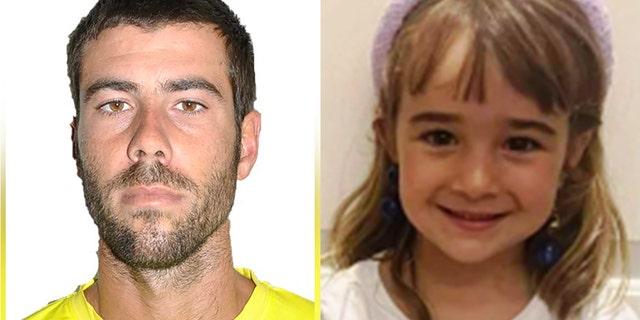 Tomás Antonio Gimeno allegedly drugged and killed his 6-year-old daughter Olivia Gimeno. (sosdesaparecidos.es)