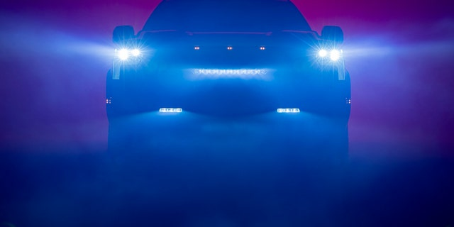 The 2022 Toyota Tundra has been previewed with this image of its front end.