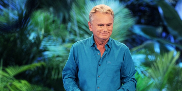 """""""Wheel of Fortune"""" host Pat Sajak attends a taping of the Wheel of Fortune's 35th Anniversary Season at Epcot Center at Walt Disney World on October 10, 2017 in Orlando, Florida."""