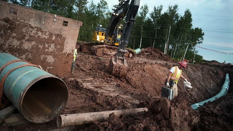 Enbridge Line 3 Pipeline AP