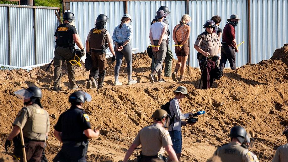 Enbridge Line 3 Pipeline Protest AP