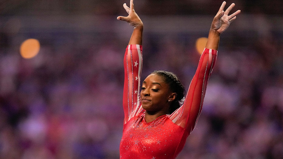 Simone Biles admits it will be 'weird' participating in Olympics without family