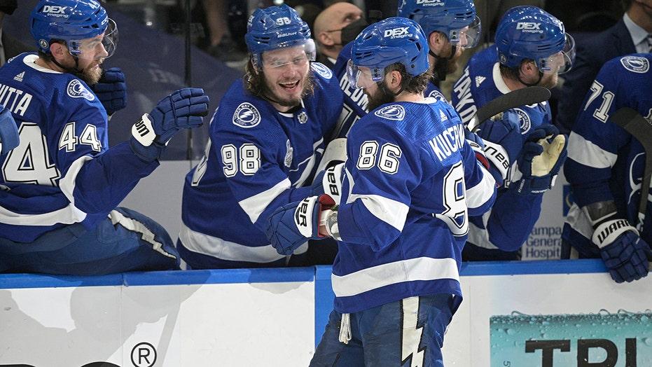Nikita Kucherov lifts Lightning to big blowout win in Game 1 of Stanley Cup Final