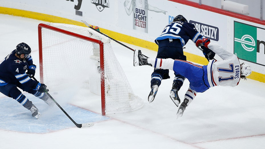 Jets' Scheifele suspended 4 games for late hit on Evans