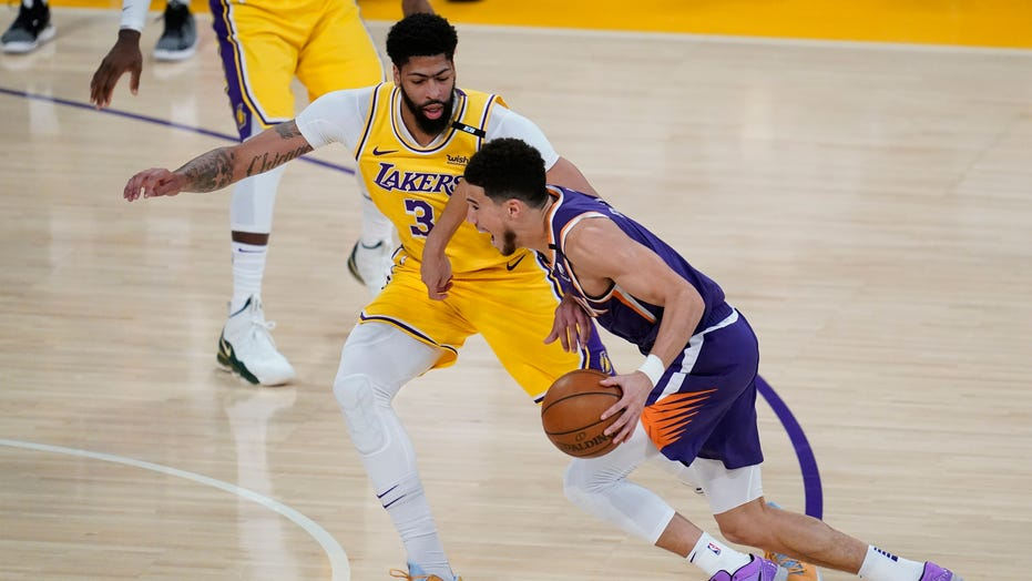 Devin Booker leads Suns in Game 6 victory over Lakers, eliminating defending NBA champions