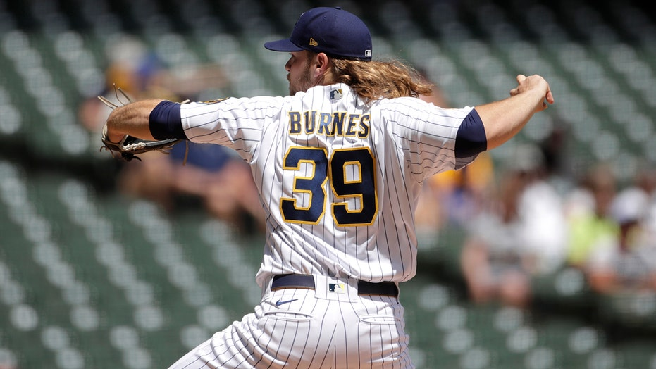 Burnes strikes out 13, D-Backs lose 17th in row on road