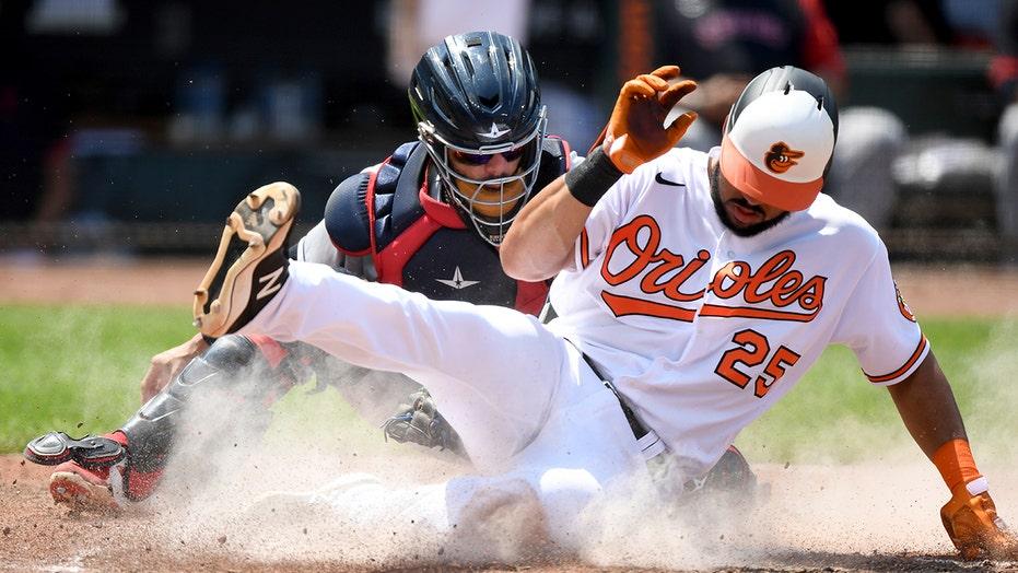 Orioles score most runs since 2015, blow out Indians 18-5