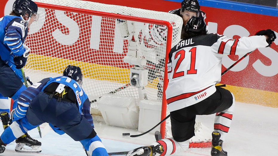 Canada beats Finland 3-2 in OT for 27th world hockey title