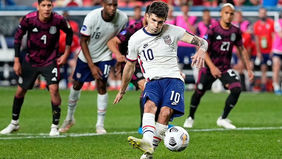 Pulisic scores in extra time, US beats Mexico 3-2