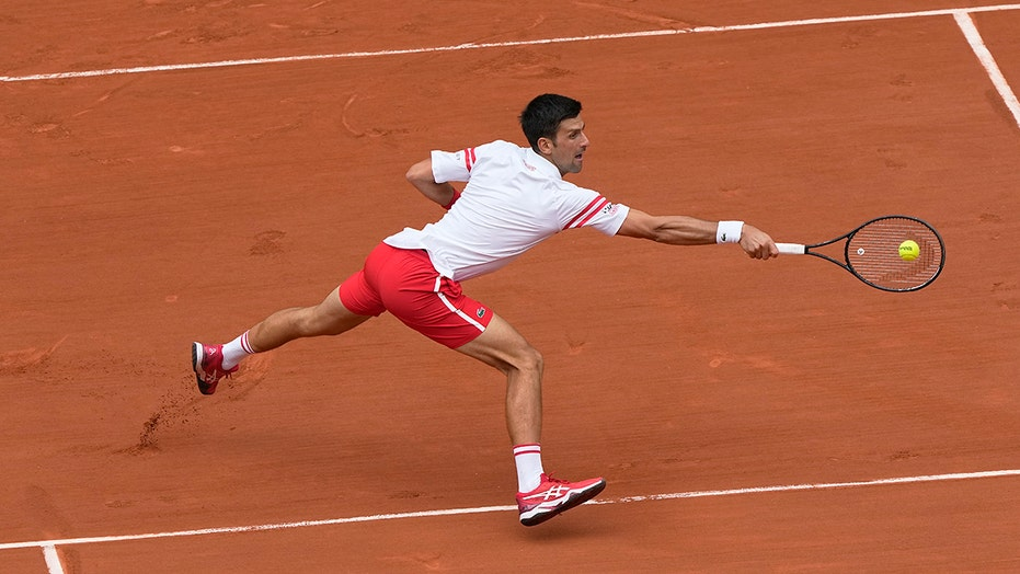 Djokovic recovers from 2-set French Open hole against teen