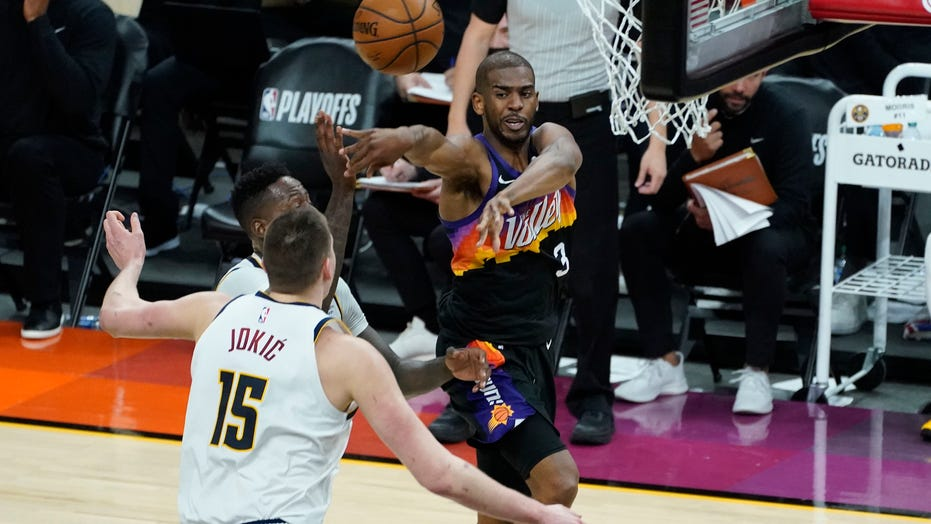 Rejuvenated Paul leads Suns over Nuggets 122-105 in Game 1