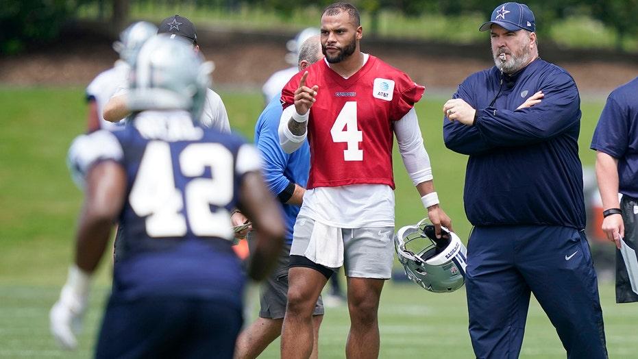 Dead and gone: Cowboys' Prescott moving past horrific injury