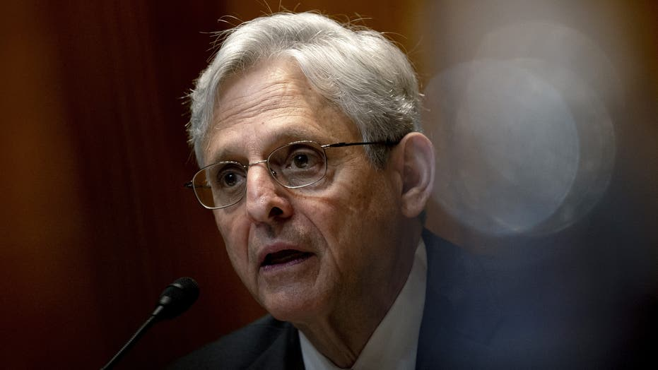 AG Garland discusses 'Red Flag' gun laws, says 'This DOJ does not believe in defunding the police'