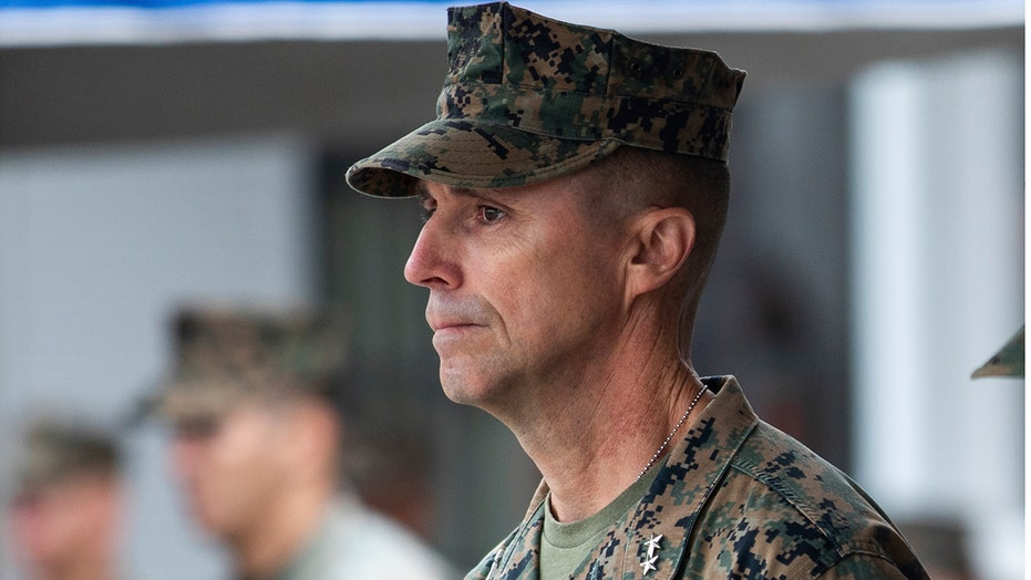 Marine Corps general relieved of duties over deadly California training accident