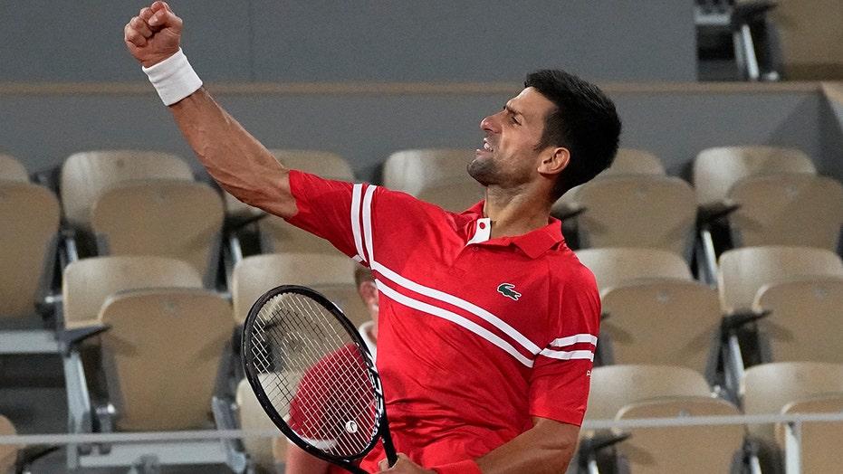 No. 1 Djokovic reaches 40th Grand Slam semifinal