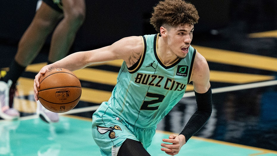 Hornets' LaMelo Ball selected NBA Rookie of the Year