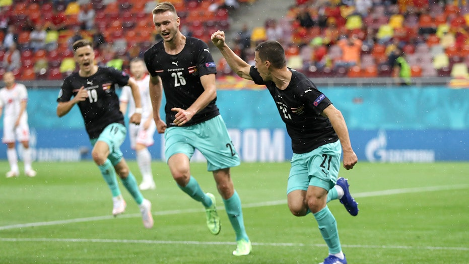 Lainer honors Eriksen after goal at Euro 2020