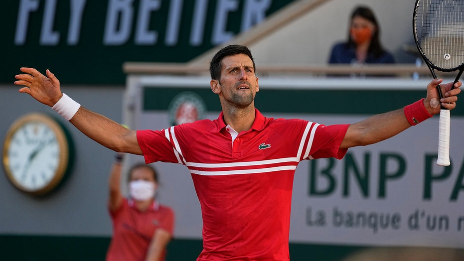 Novak Djokovic comes from behind to win 2nd French Open title
