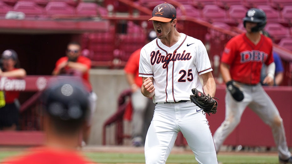 McGarry fans 10, Virginia beats DBU 4-0 to force Game 3