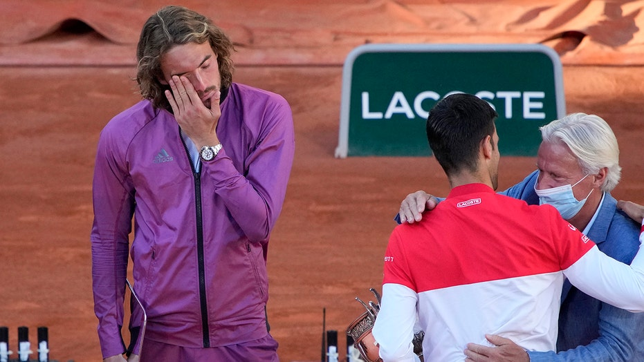 French Open runner-up Tsitsipas says he learned a lesson