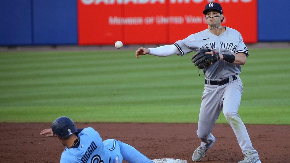 Yankees turn triple play, take advantage of Blue Jays' poor baserunning