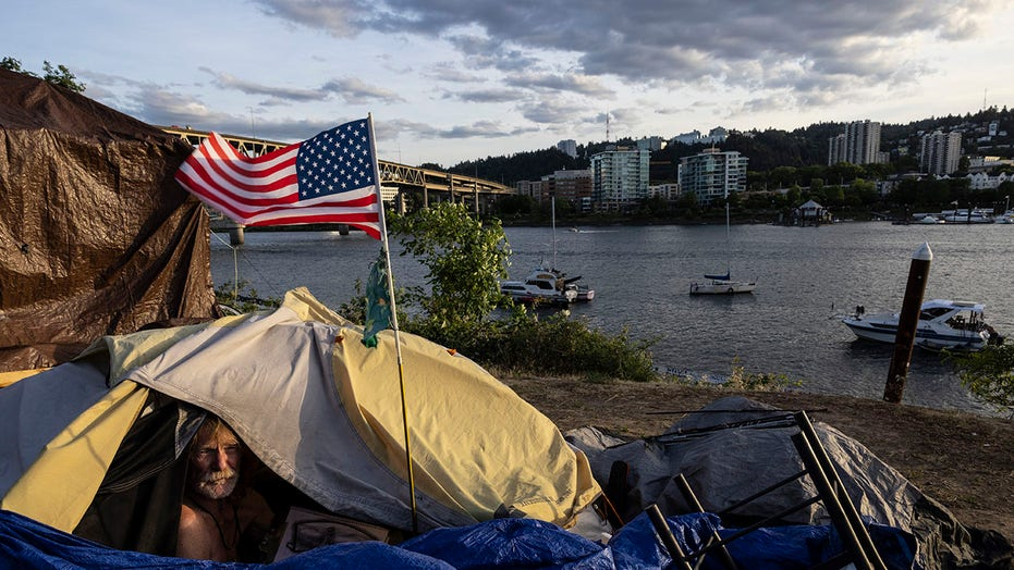 Portland resident next to homeless camp installs cameras, electric fence