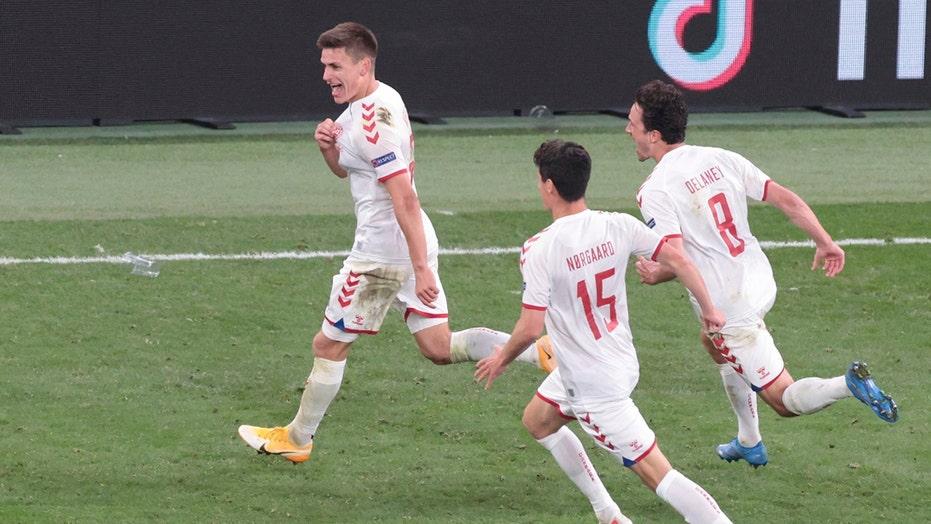 Christian Eriksen-inspired Denmark advances to knockout round in Euro 2020