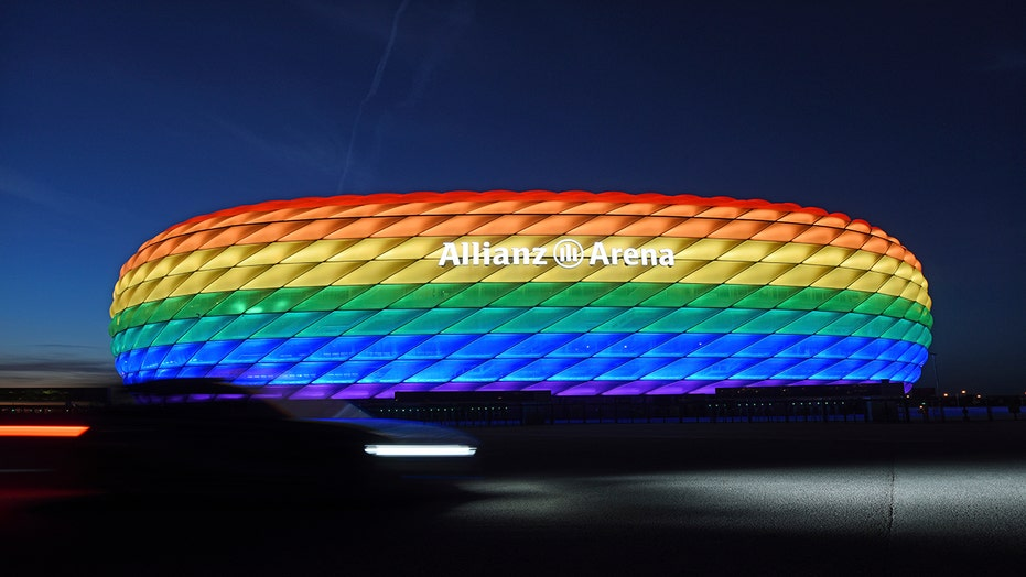 UEFA declines Munich application for rainbow-colored stadium