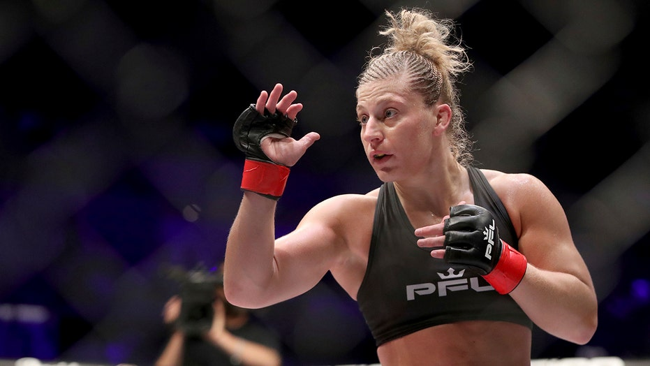 Now a single mom, MMA champ Harrison finds new purpose