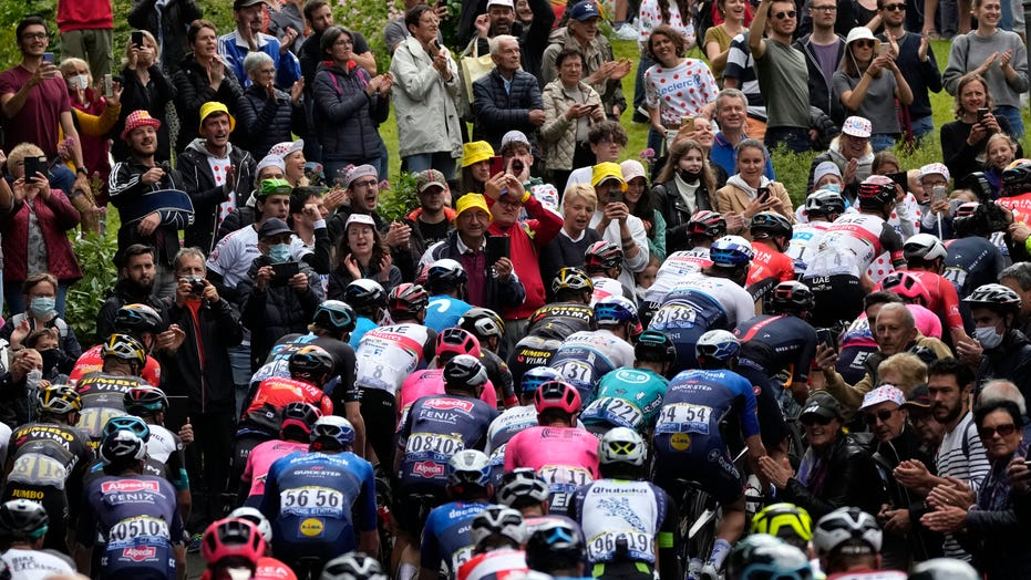 French authorities launch investigation after Tour de France spectator causes massive pileup