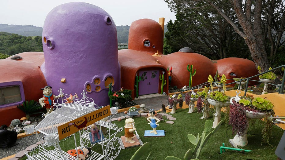 Flinstone house owner settles with California town, will be allowed to keep cartoon-inspired additions